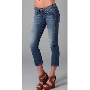 True Religion Jeans Lizzy Capris Womens Sz 25